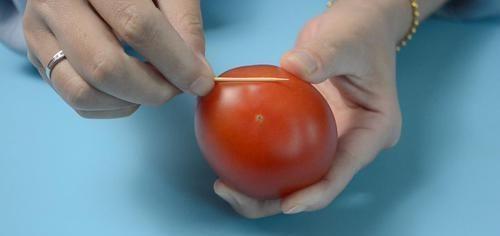 西紅柿上放一根牙籤,作用真強大,解決家家都困擾的煩惱,太棒了