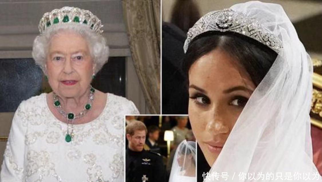 梅根兩次穿婚紗大膽個性,不聽女王建議,神秘婚禮說被無情拆穿