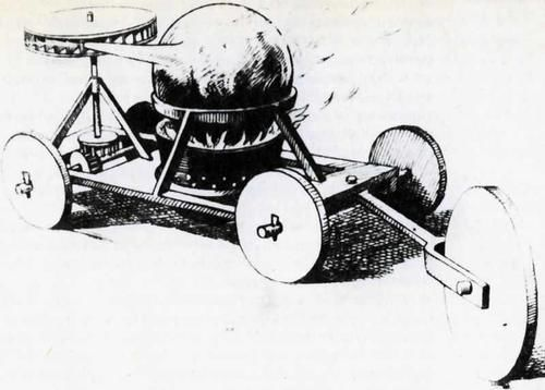 世界上第一輛汽車誕生於中國,竟然比汽車締造者奔馳早瞭兩百多年