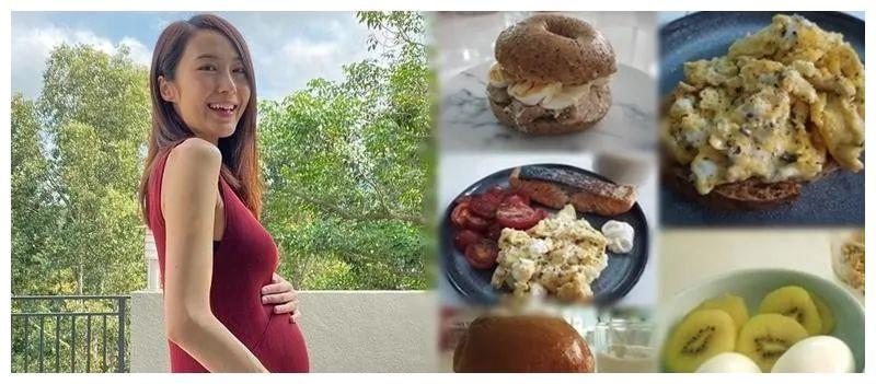 女星懷孕8個月分享肥胎不肥人餐單 l 視帝回家跟家人溫馨團聚