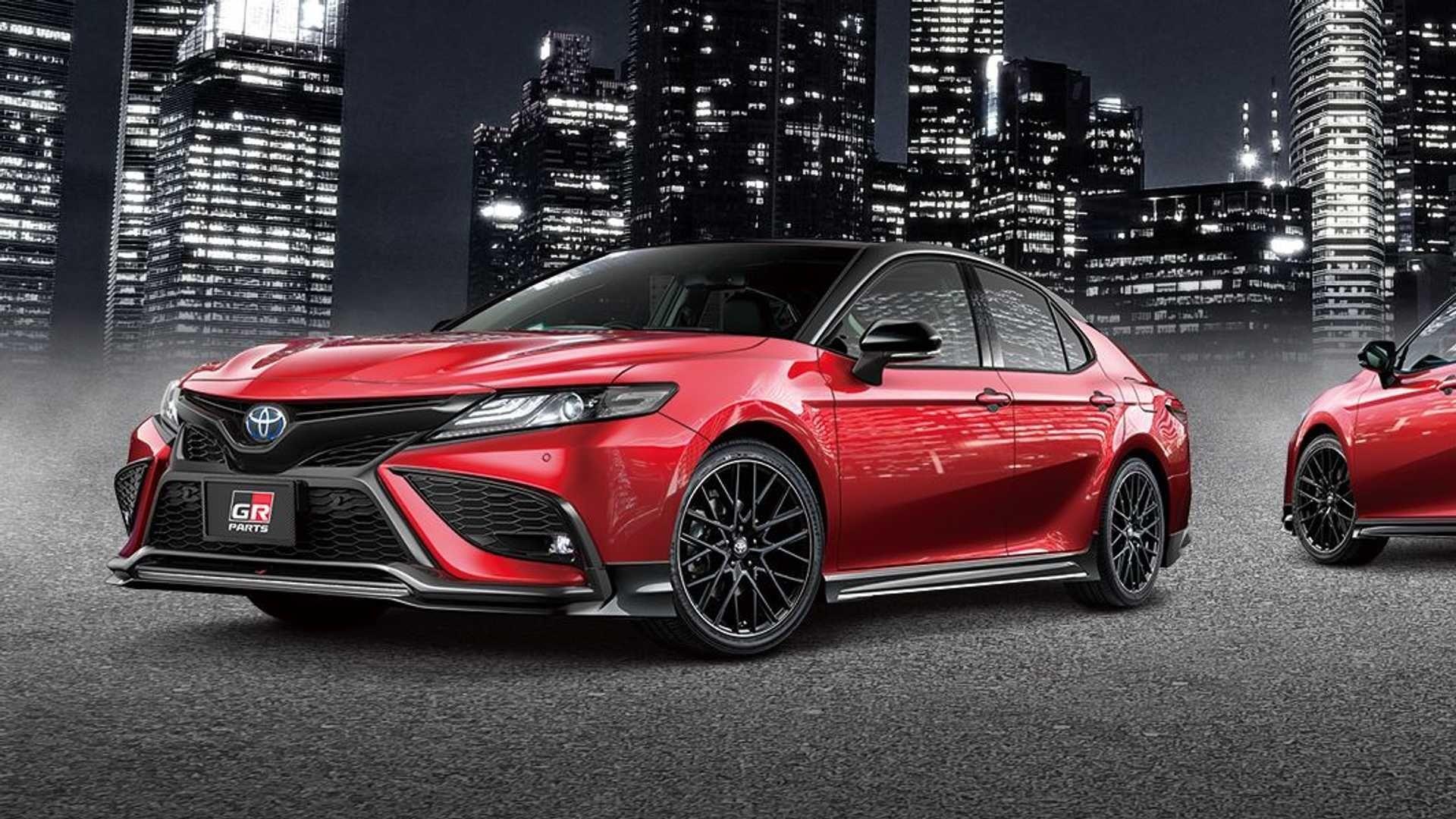 豐田凱美瑞對年輕人的關照 豐田推GR和Modellista兩款外觀套件