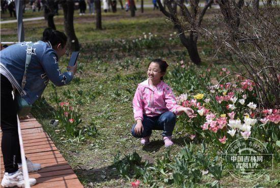 「五一」假期好去處 長春公園等你來賞花【圖集】