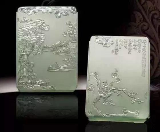 【草丁图书馆】美到极点的翡翠方牌盛宴,真漂亮!