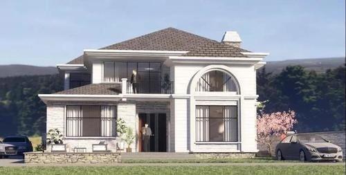 城裡賺錢鄉下花,建棟房子更心安,5款讓人眼紅的別墅