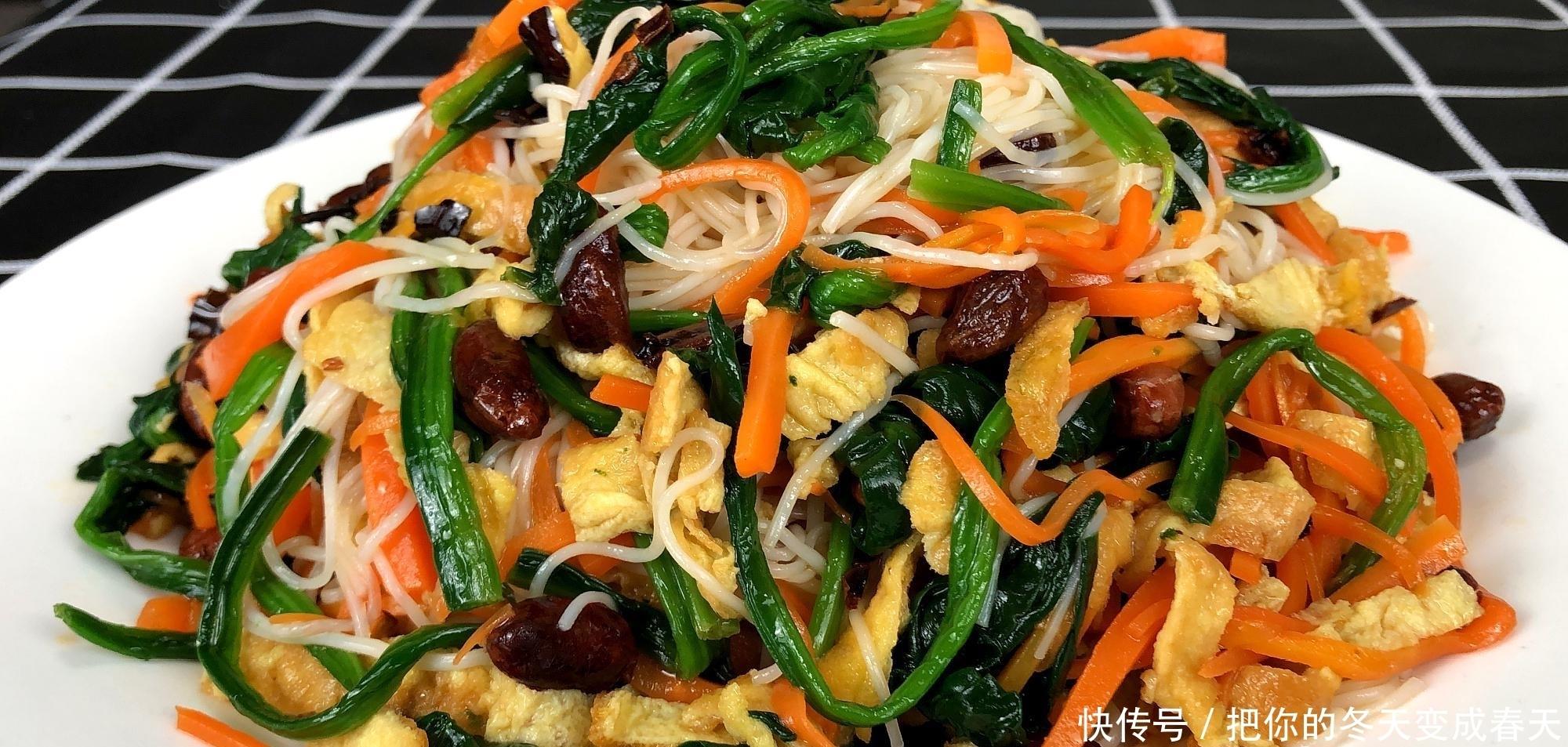 教你爽口好吃的涼拌菠菜,營養美味還解饞,關鍵不用怕長胖