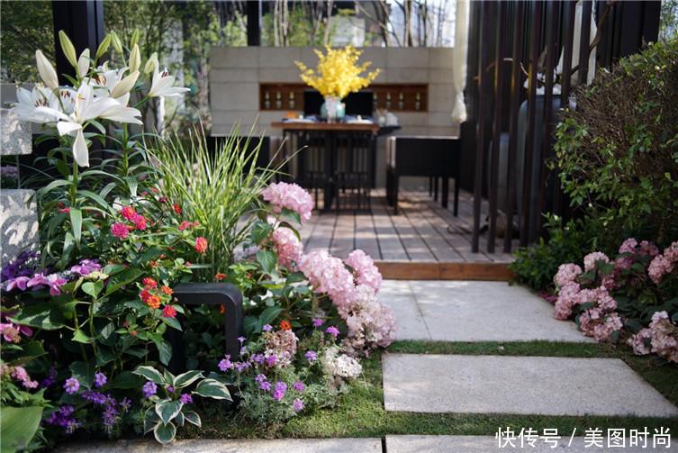 """16个""""庭院花园""""设计,3步打造最美庭院,宅在家也能欣赏风景"""