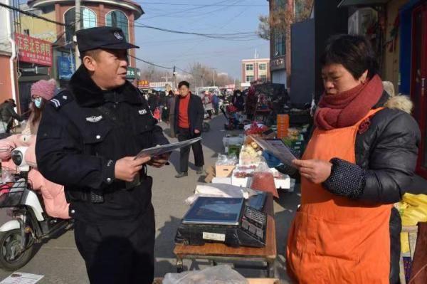 """情系群众为民服务的青岛平度110""""暖警""""倪宁涛"""