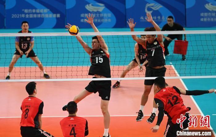 2021年全國排球四強邀請賽在蓉開賽