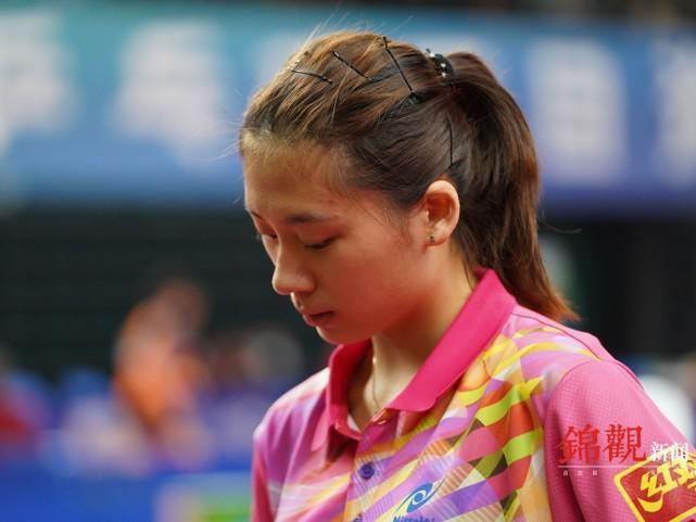 國乒新星璀璨 17歲的她很美