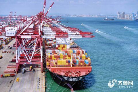 山東省港口集團實現裝卸生產元月開門紅 集裝箱吞吐量同比增長10.1%