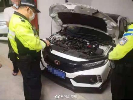 小車非法改裝,依法處罰