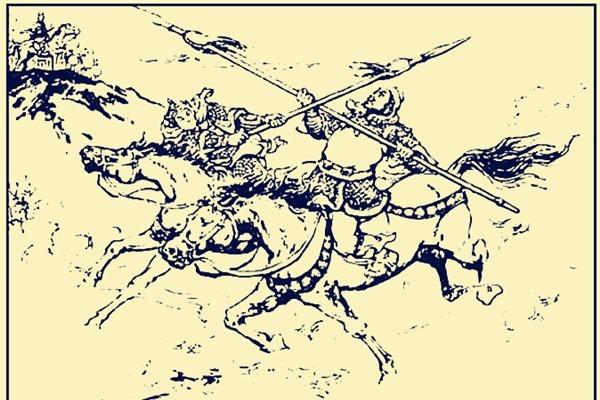 许褚李典乐进三人围攻赵云,多少回合能杀了巅峰时期的赵云?