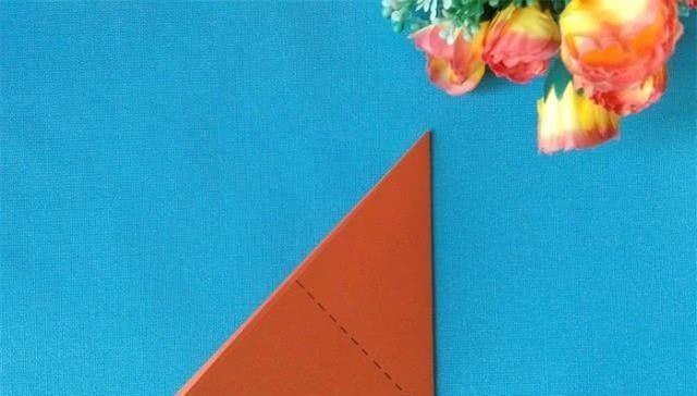 剪纸 剪纸步骤分享一次剪四只小鸟,简单有趣,小孩子也能学会