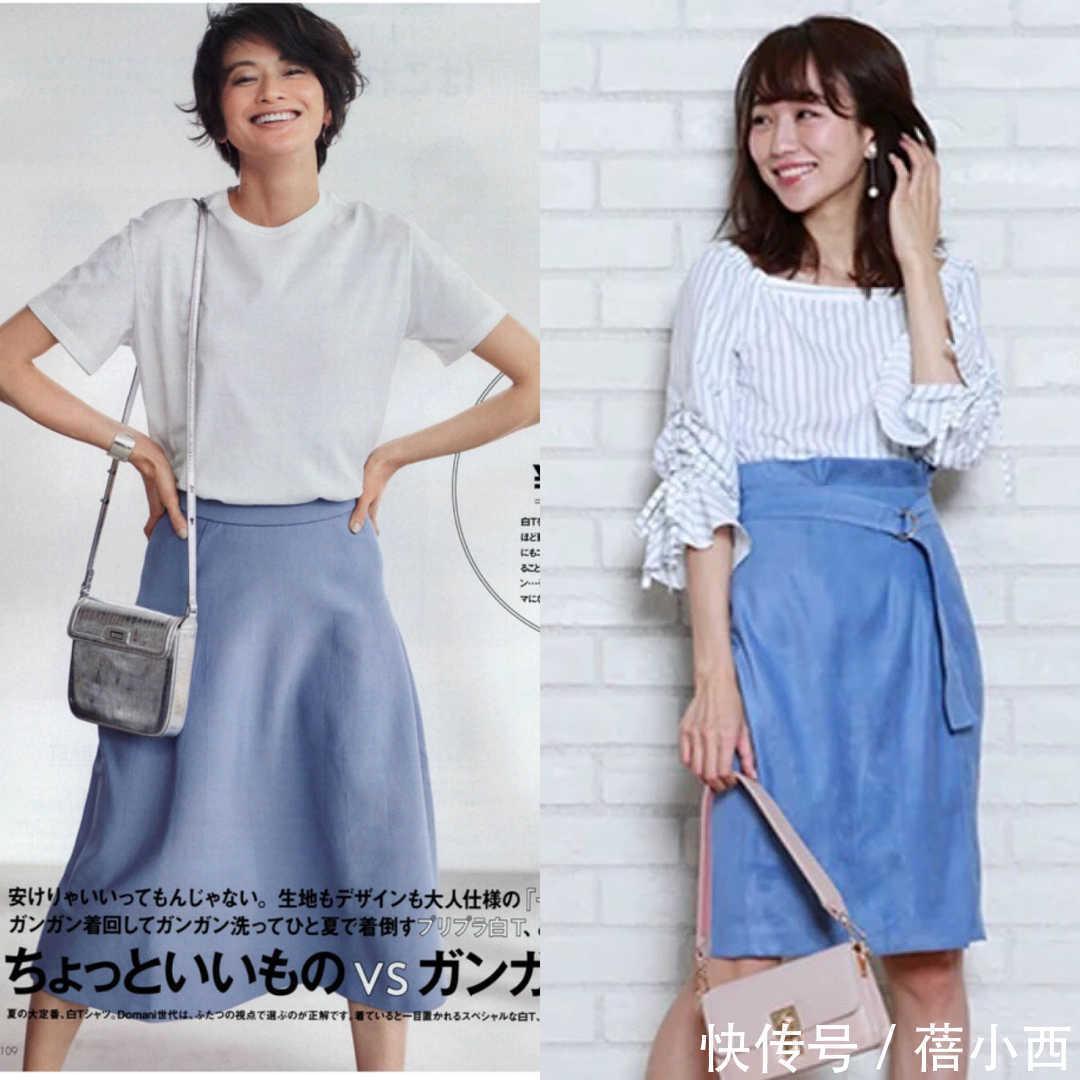 30歲女性夏季拒絕穿得太沉悶,看日本小姐姐,淺色系色搭配太高級