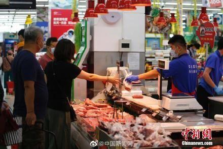 豬肉價格連降7周
