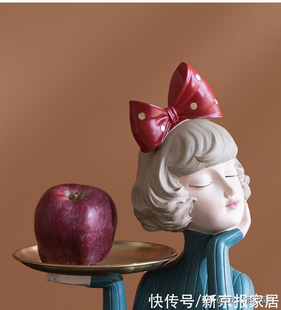 好物丨创意果盘提升格调,让彩色树、蝴蝶结女孩给美味水果加分