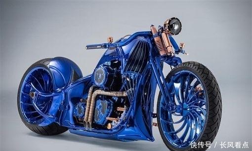 全球最奢侈的訂制摩托機車 標配鉆石和名表