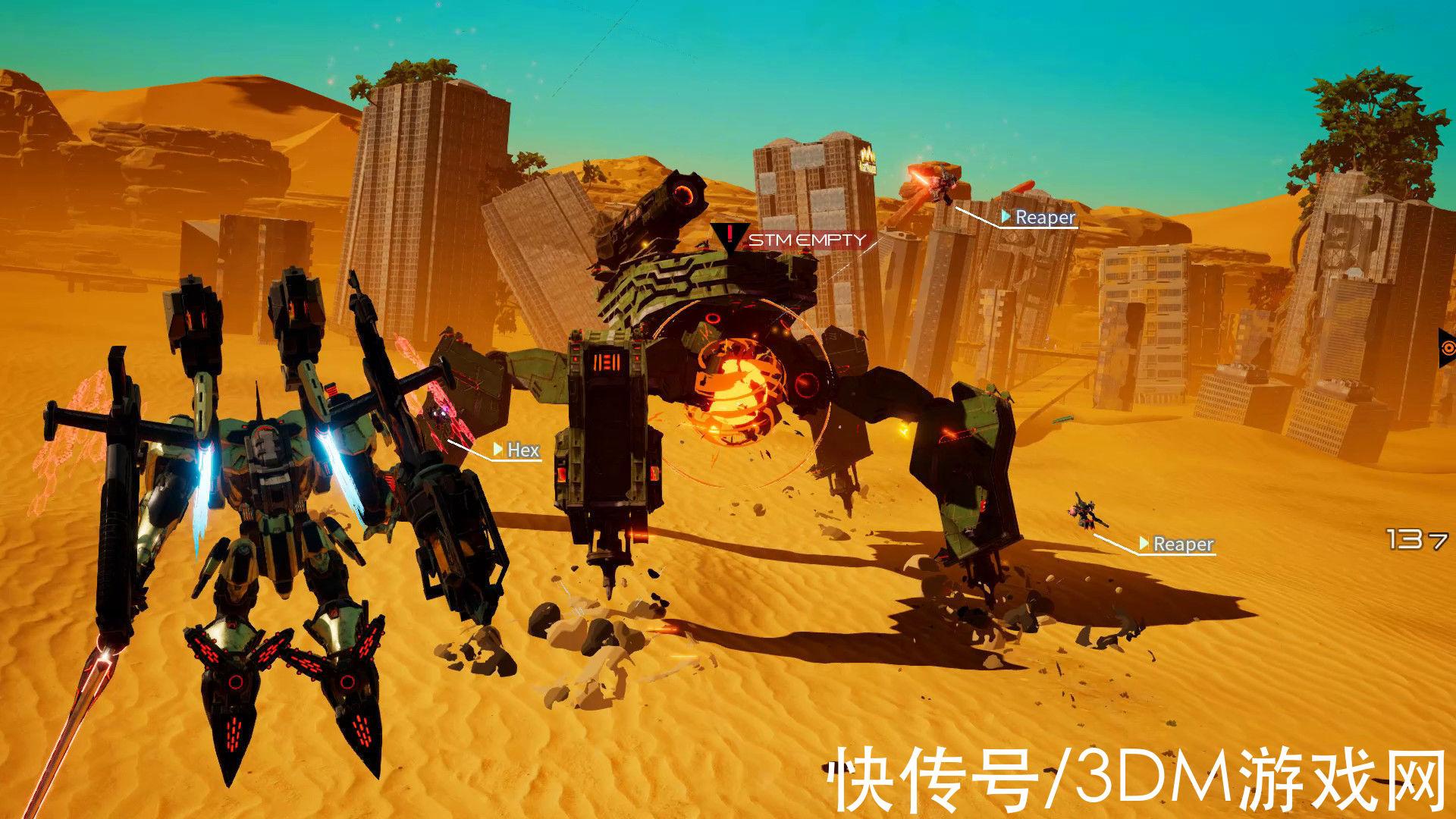 射击游戏 《机甲战魔》制作人正式确定开发续作
