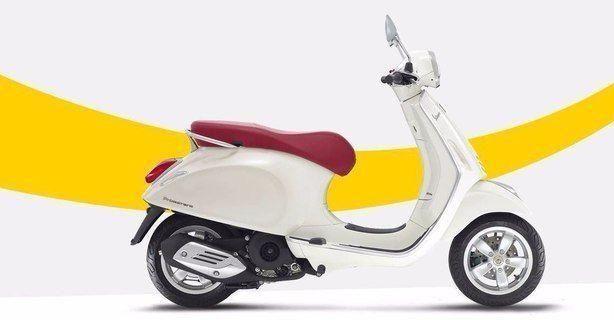 3萬拿下網紅小踏板vespa,這顏值值2萬,改瞭大燈這車值4萬