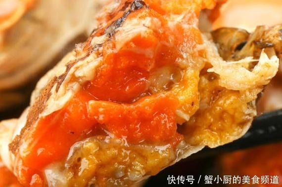 色泽明亮口感丰富,蟹肉鲜美喷香回味无穷,多吃有利于补充钙质