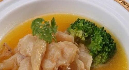 簡單美味的「奶湯魚肚羮」