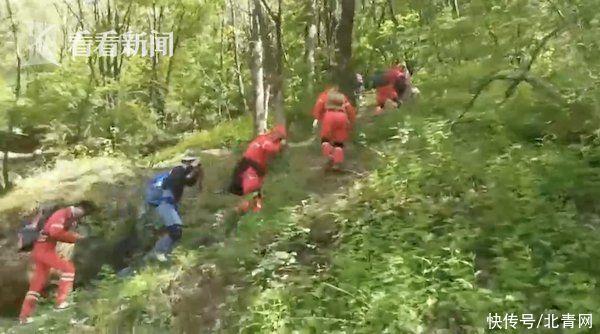 驢友秦嶺穿越失聯已9天 200人帶無人機進山搜救