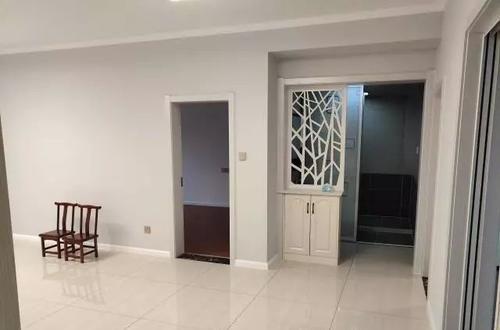 客厅电视|五个月完工,带隐形门的电视墙真抢眼,超大阳台特别喜欢