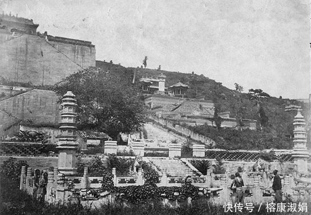 老照片:这里是百年前颐和园的前身,那时这里破败不堪