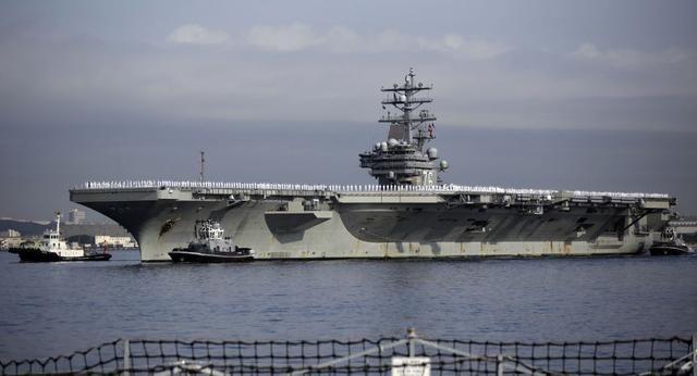 """美軍航母要撤出亞太?""""裡根""""號前往中東協助撤軍,目的並不單純"""