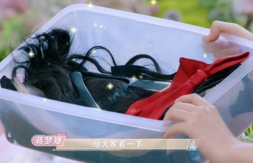 蒋梦婕上《beauty小姐3》,一筐好物成焦点,秃头女孩都被种草啦