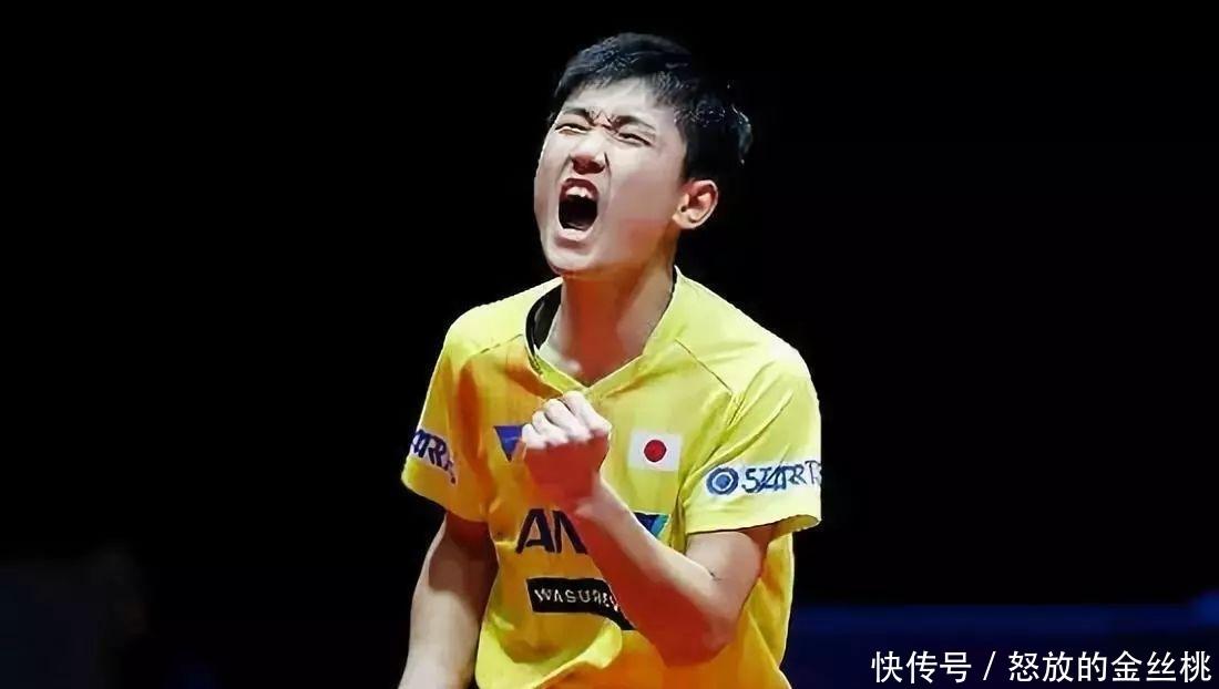 男乒16歲天才殺出重圍!挑落奧運冠軍喊話張本智和,劉國梁高興瞭