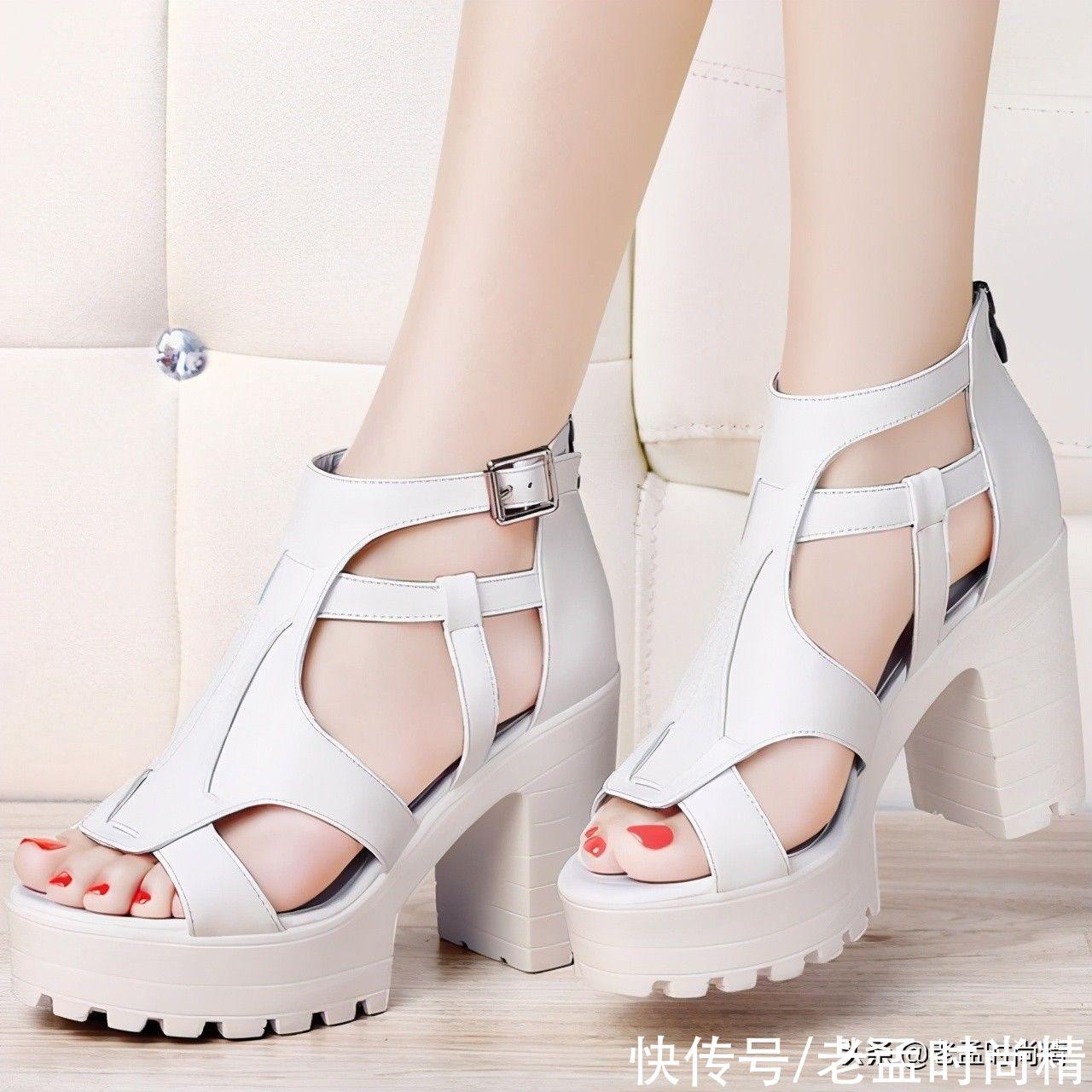 最適合夏季出街的精致女鞋,洋氣舒適更顯女人味,美翻瞭