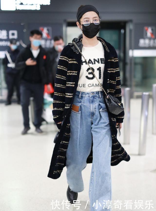 """今年冬天火瞭一種穿法,叫""""外套+老爹褲"""",承包你一整季的時髦"""