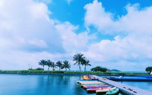 遇见马尾岛的天空