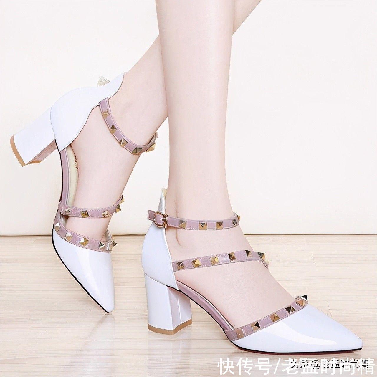 高跟鞋又出新款瞭,每款都是超級的女神