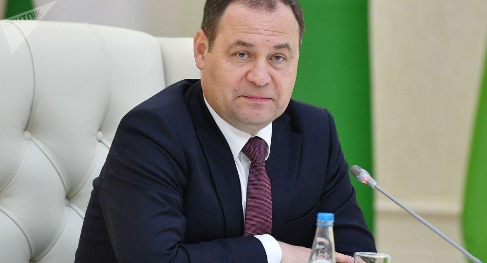 """白俄羅斯總理:明斯克有意放棄歐美技術,""""光中國技術就可替代90%的歐美技術"""""""