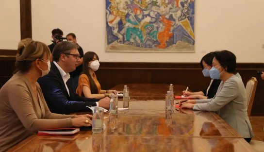 当着中国大使的面,塞尔维亚领导人亮明了态度