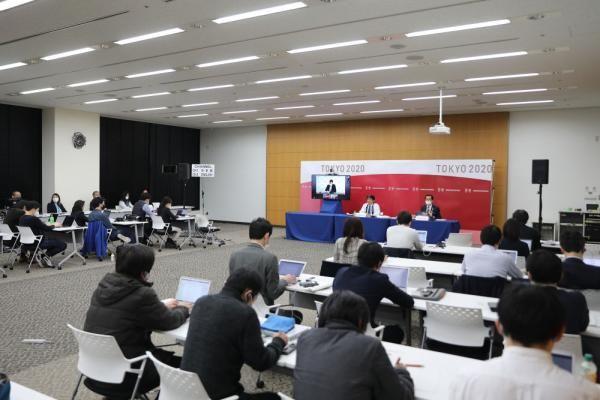 國際奧委會、國際殘奧委會和東京奧組委就防疫計劃召開聯合記者會