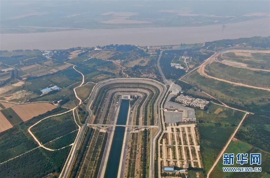 """南水北调穿黄工程:黄河长江在这里""""相遇"""""""