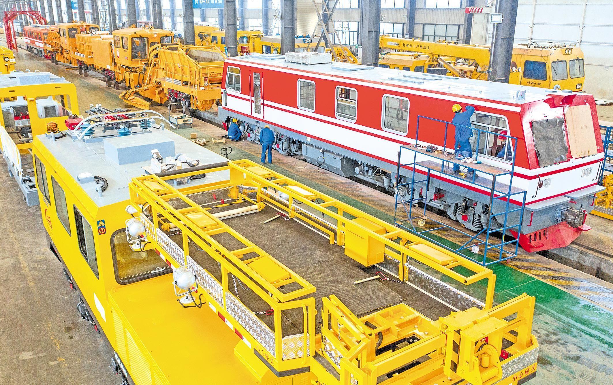 襄陽鐵路裝備制造趕國際訂單
