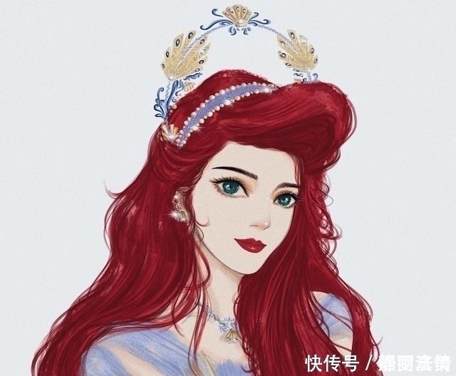 当迪士尼公主成女王别低头,皇冠会掉艾莎的皇冠美轮美奂