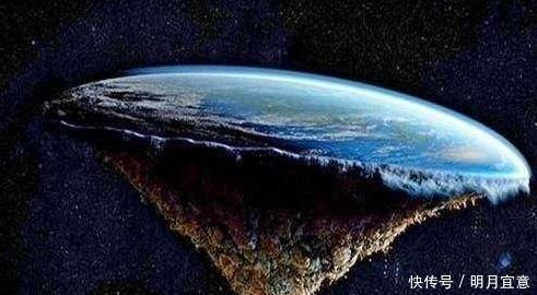 地球是圓的,為什麼我們看到的水和地面是平的長知識了