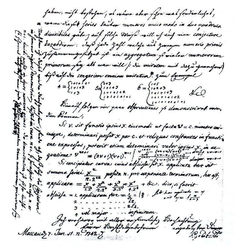 info_汽车|从不同视角看哥德巴赫猜想,数学未解之谜的等价公式