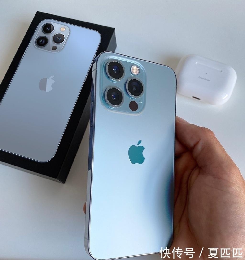 抛光膏|iPhone 13 Pro远峰蓝上手图首次曝光
