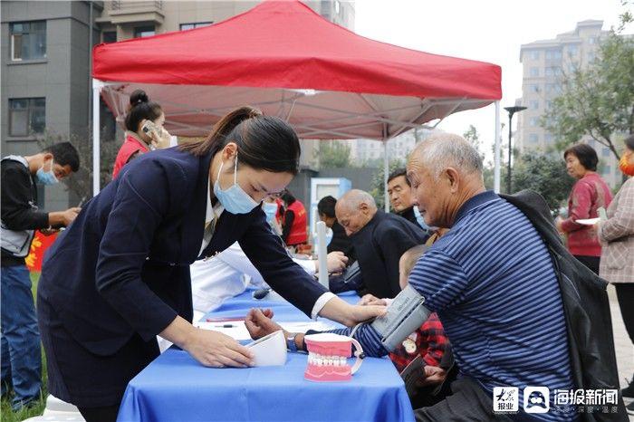 志愿|九九重阳献爱心 广饶县红十字志愿服务暖人心
