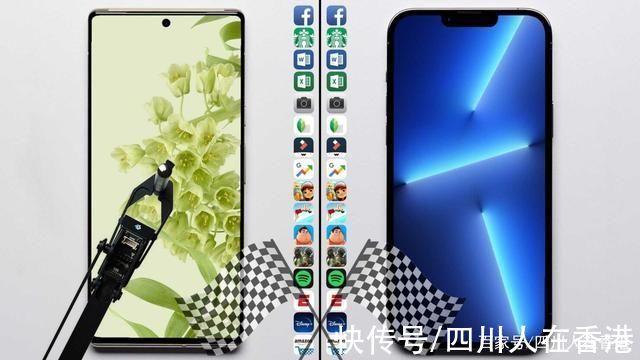 m速度测试:iPhone 13 Pro Max 勉强击败 Pixel 6 Pro