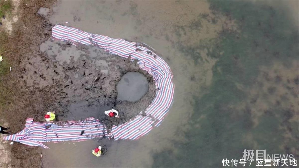 坠入浙江嘉善鱼塘的不明物体:事发4日仍未挖到,是陨石的可能性不大