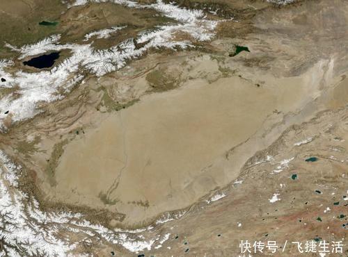 """中国沉睡万年的""""聚宝盆""""塔里木盆地,焕发全新的生命力"""