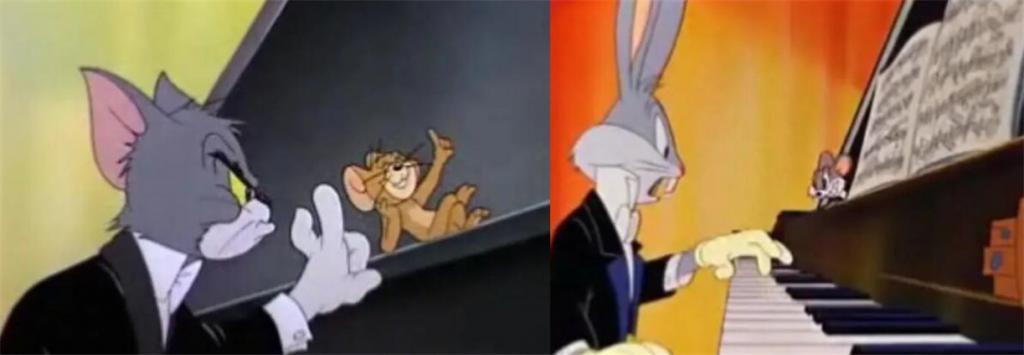 国人只知国漫抄袭,却不知《猫和猫鼠》与《兔八哥》某集高相似度