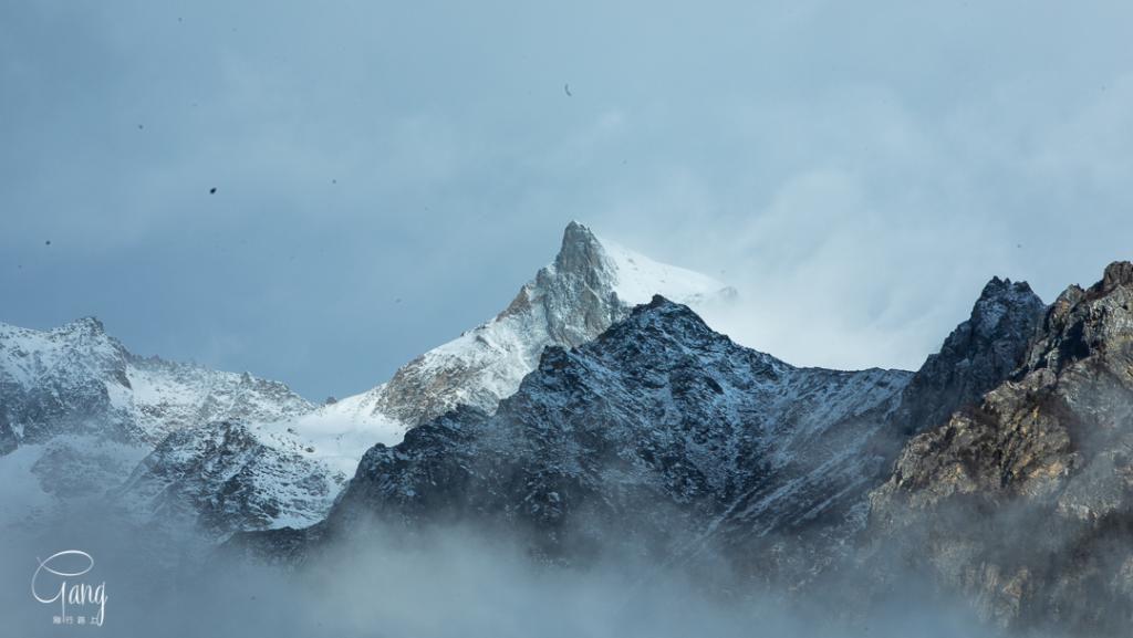 被称为最美冰川的米堆,只有抵达才能发现这里的美